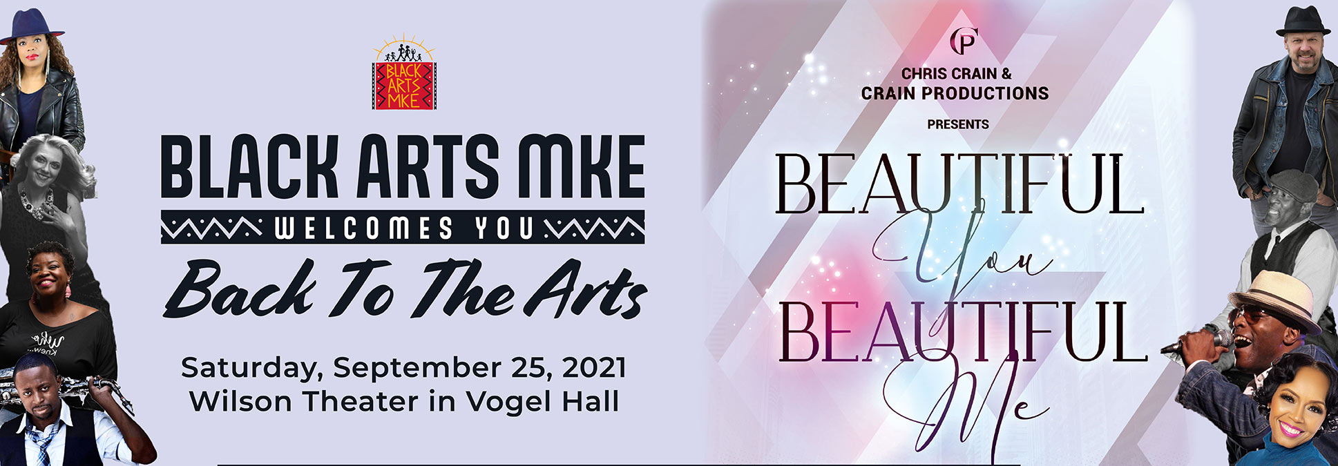 BAMKE21 Beautiful You Beautiful Me at the Marcus Performing Arts Center in Milwaukee