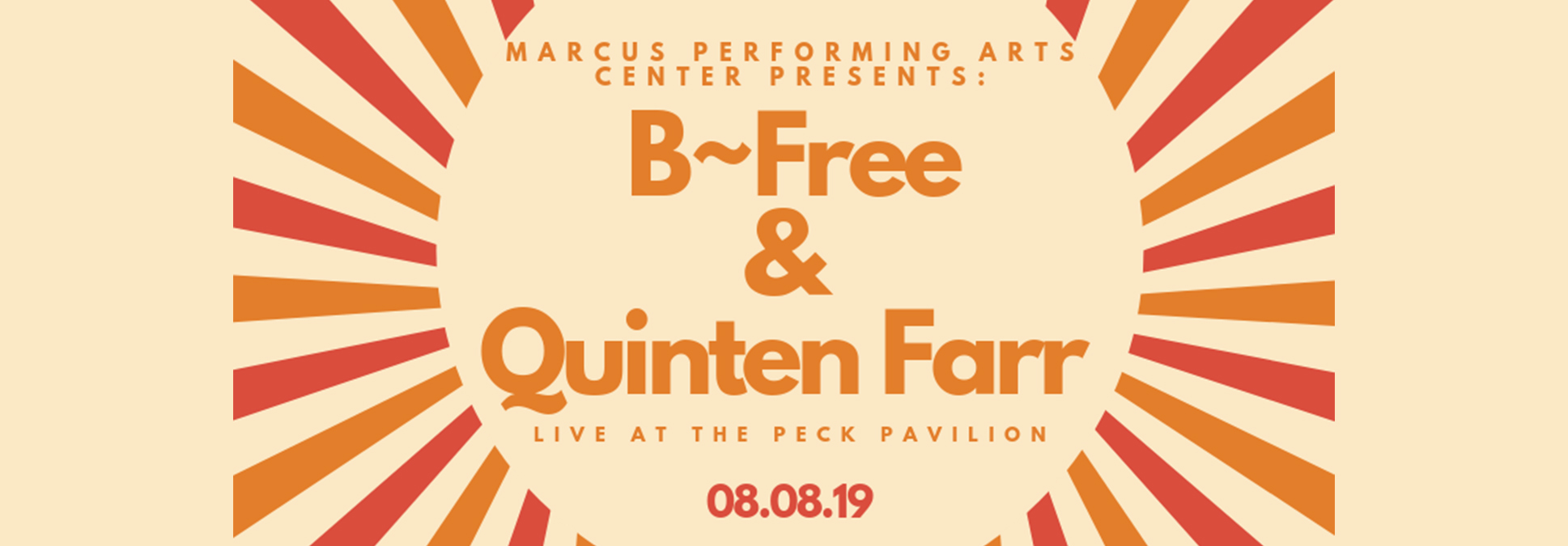 BFREE QUINTENFARR at the Marcus Center in Milwaukee