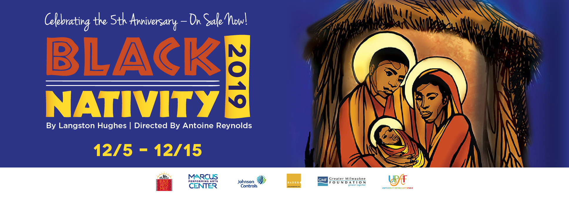 Black Nativity 2019 at the Marcus Center in Milwaukee