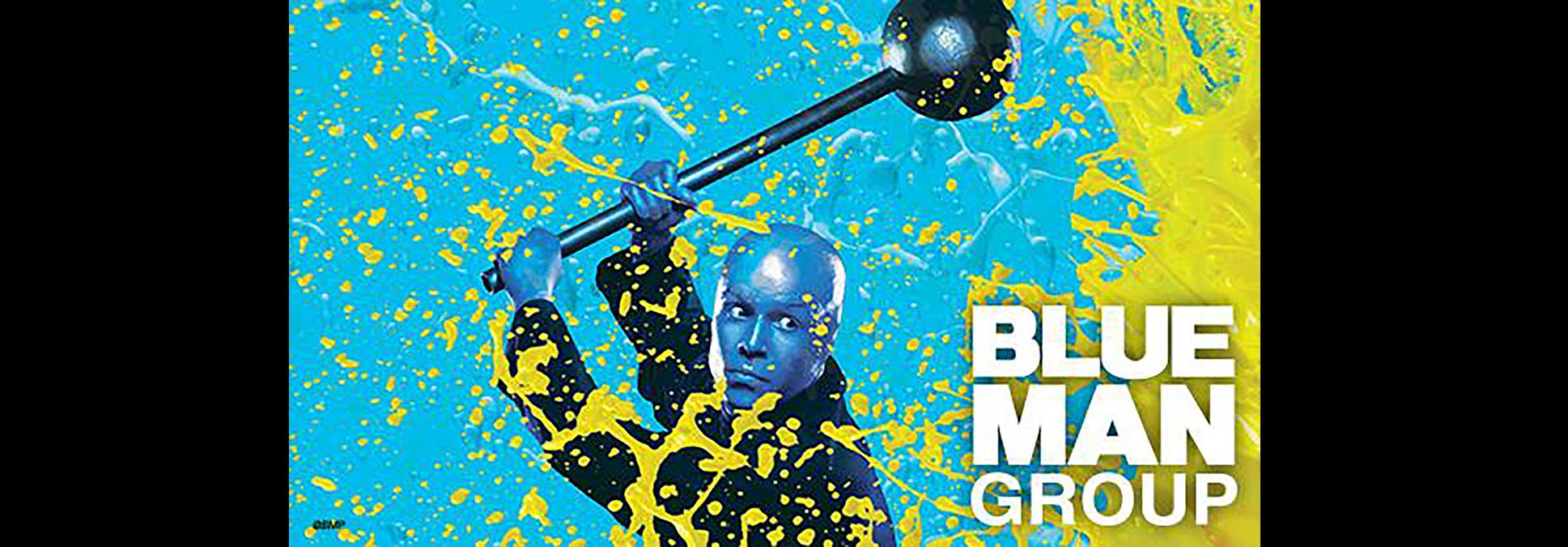 Blue Man Group at theMarcus Performing Arts Center in Milwaukee