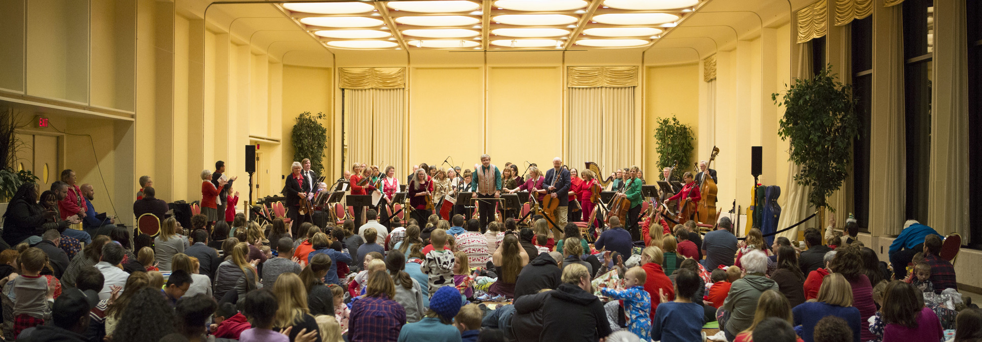 Holiday Pajama Jamboree at the Marcus Center in Milwaukee