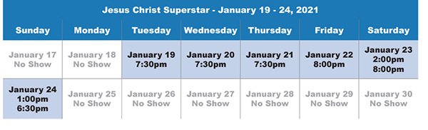 Jesus Christ Superstar Group Sales at the Marcus Center in Milwaukee