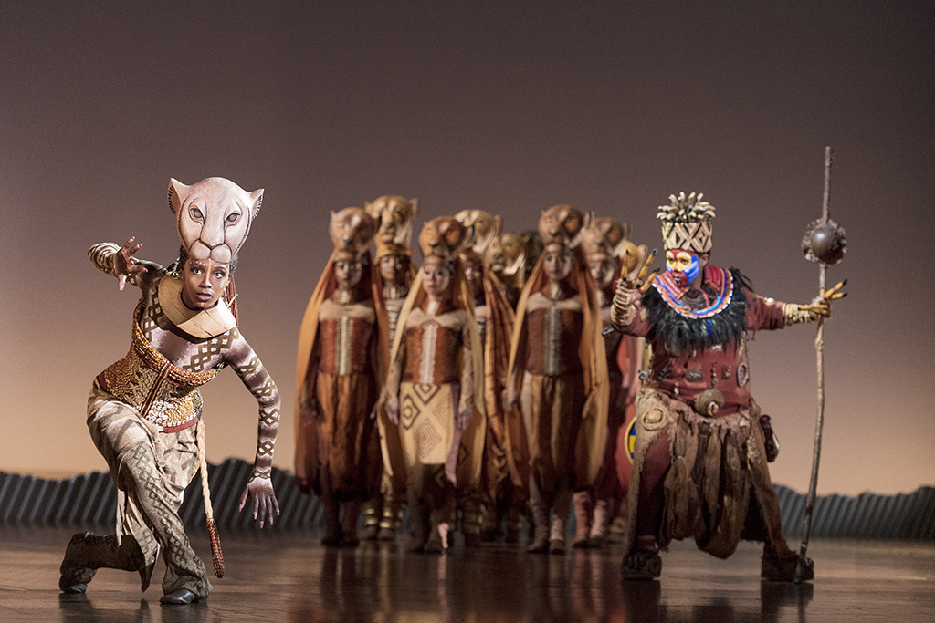 Disney's The LION KING at the Marcus Center in Milwaukee, Wisconsin