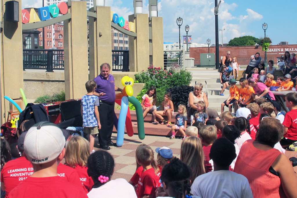 Kidz Days at the Marcus Center in Milwaukee