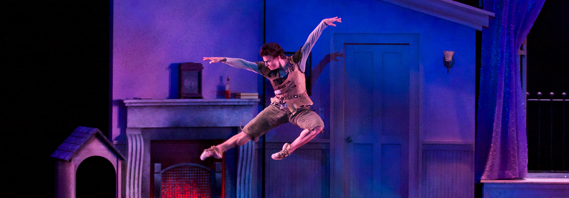 Milwaukee Ballet Performs Peter Pan at the Marcus Center in Milwaukee
