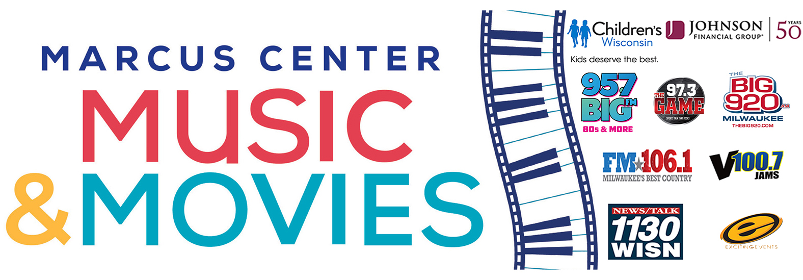 Music and Movies at the Marcus Center in Milwaukee