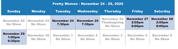 Pretty Woman The Musical Groups Sales in Milwaukee at the Marcus Center