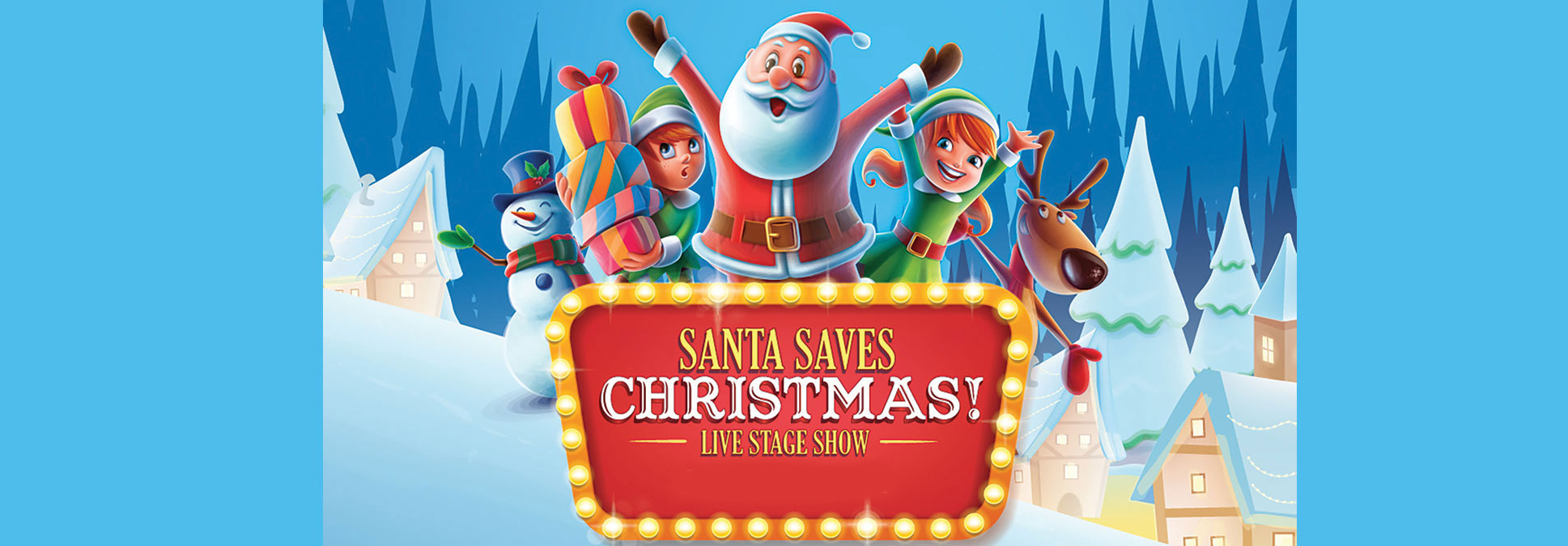 Santa Saves Christmas at the Marcus Performing Arts Center in Milwaukee