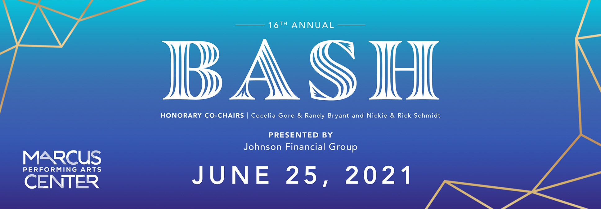 Broadway Bash Sponsorship Opportunity 2021 Marcus Center in Milwaukee