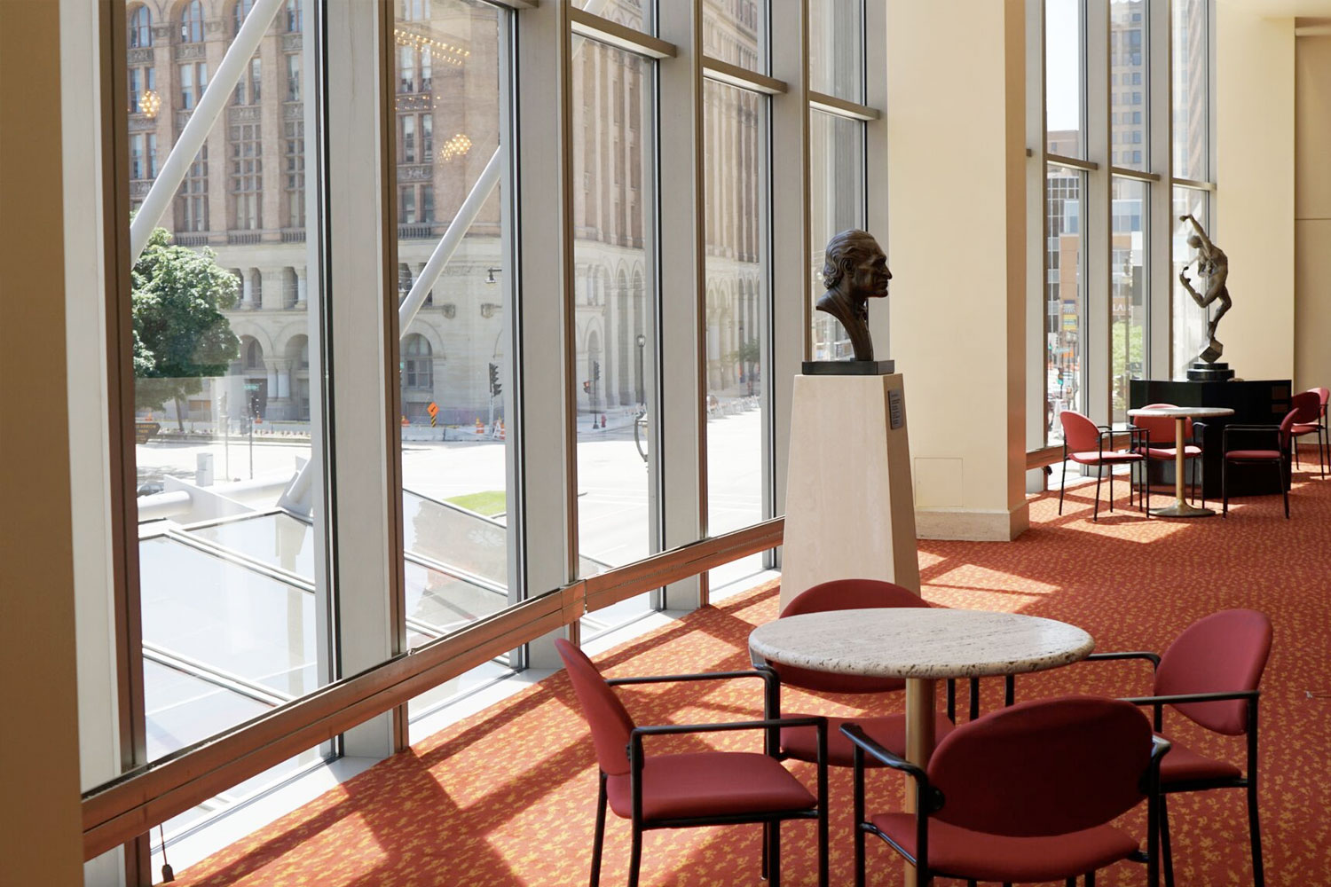 Anello Atrium & Magin Lounge at the Marcus Center a rental space in downtown Milwaukee