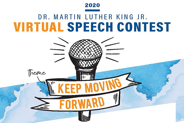MLK Speech Contest at the Marcus Center in Milwaukee