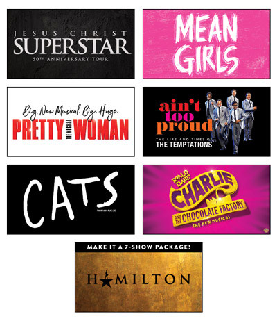 Broadway Season Marcus Center 2021